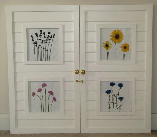 Elizabeth\'s Flowers: Creative Framing with Pressed Flowers