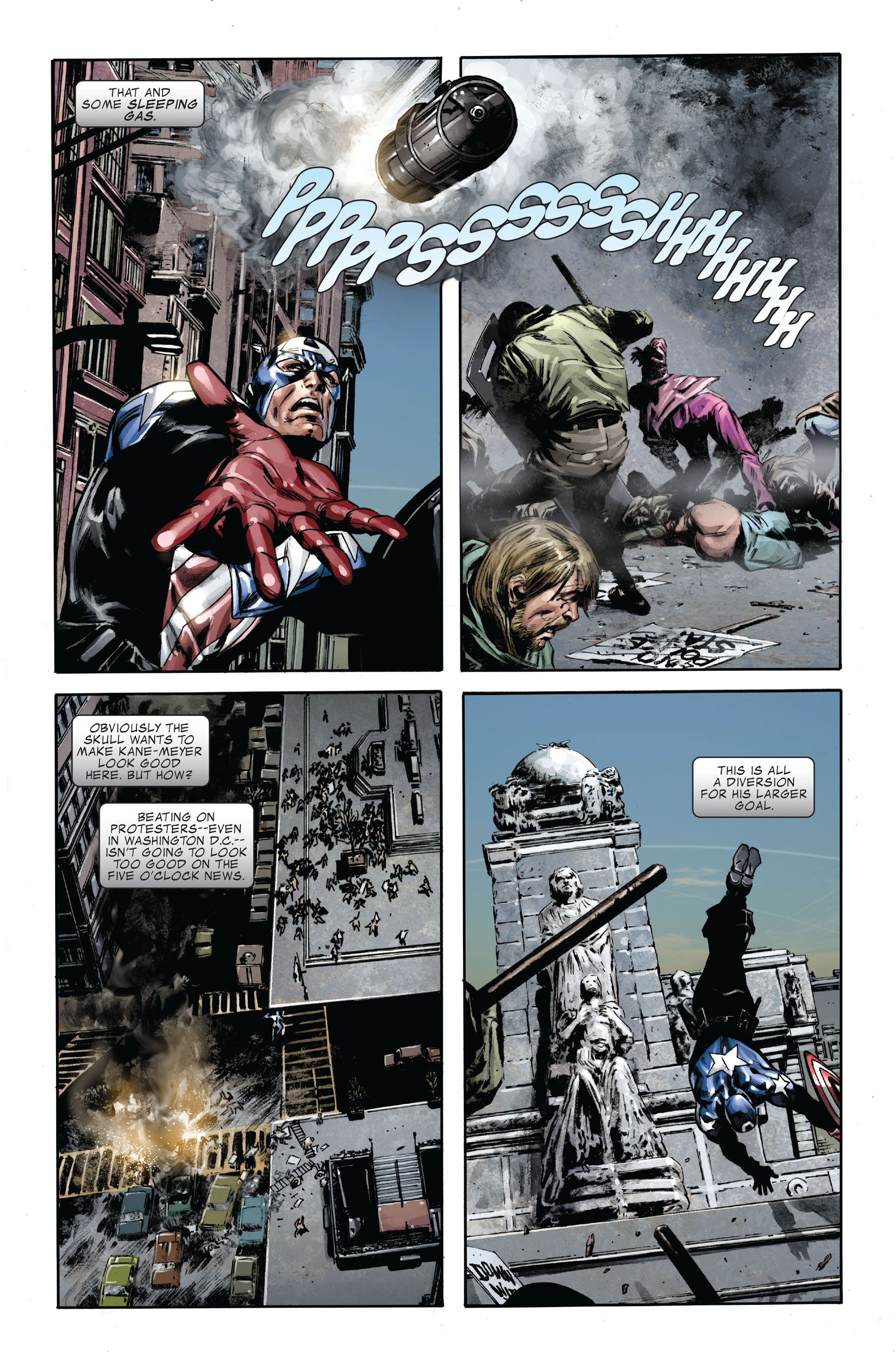 Captain America (2005) Issue #35 #35 - English 16