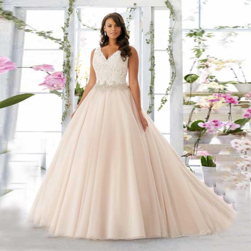 Vestidos de novia muy grandes