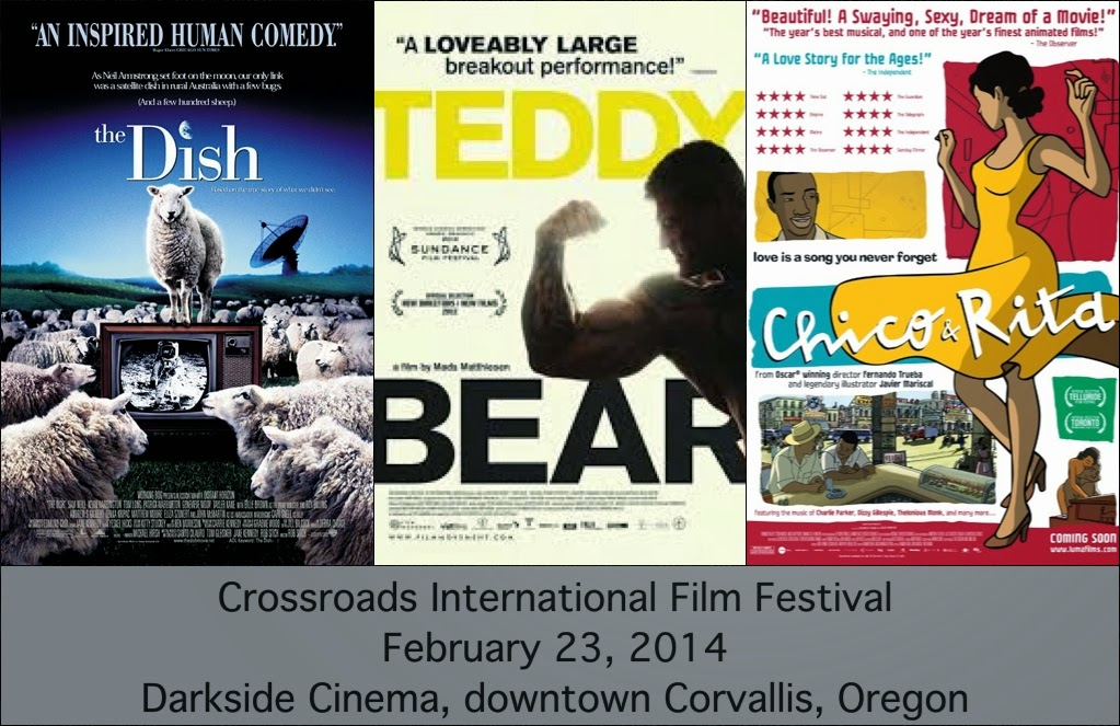 Crossroads International Film Festival February 23, 2014
