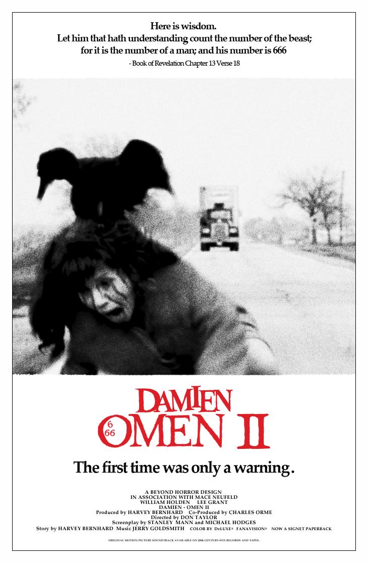 Beyond Horror Design Omen The Amp Damien Omen Ii
