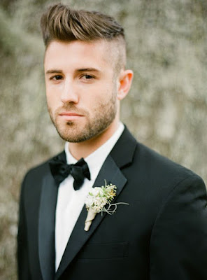Wedding male hairstyles
