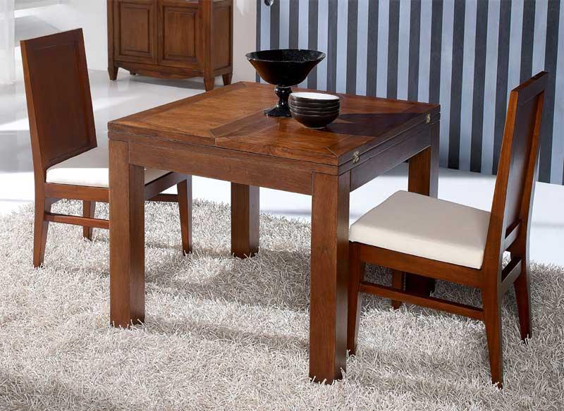 La web de la decoracion y el mueble en la red mesas de comedor extensible l nea wood - Mesa comedor cuadrada extensible ...