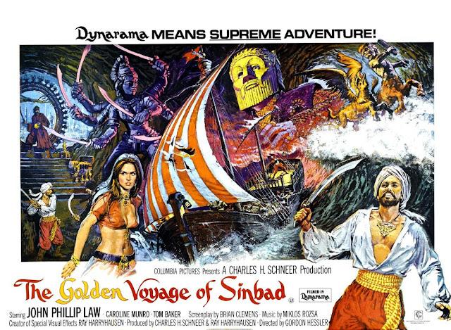 El viaje fantástico de Simbad / The Golden Voyage of Sinbad (película)