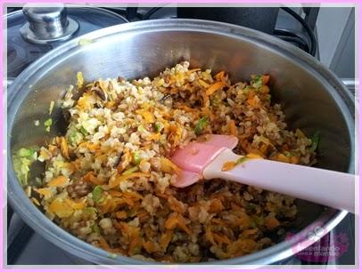 Aproveitando as sobras para fazer um arroz delicioso
