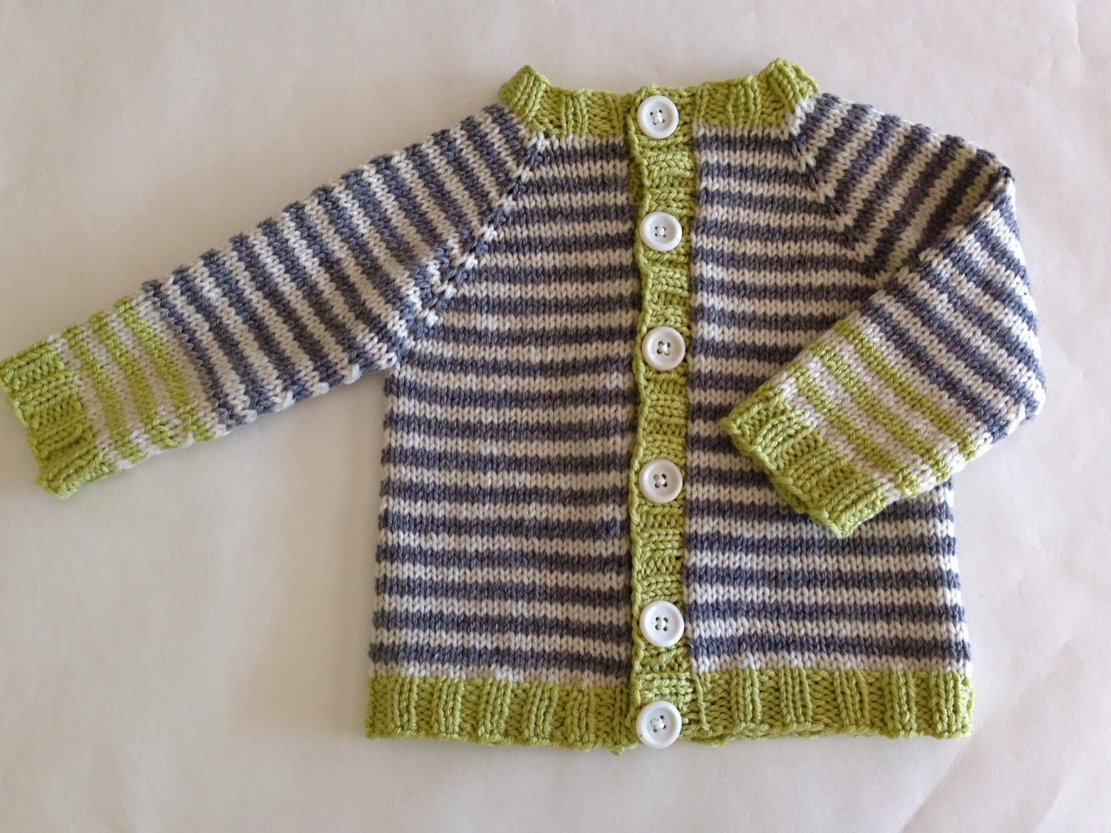 Knitting Pattern Raglan Sleeve Baby Cardigan : totally free/totally adorable baby cardigan - Knitionary