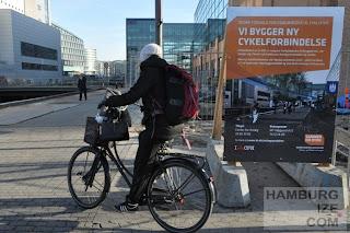 Kopenhagen, Bryggerampen - Baustelle