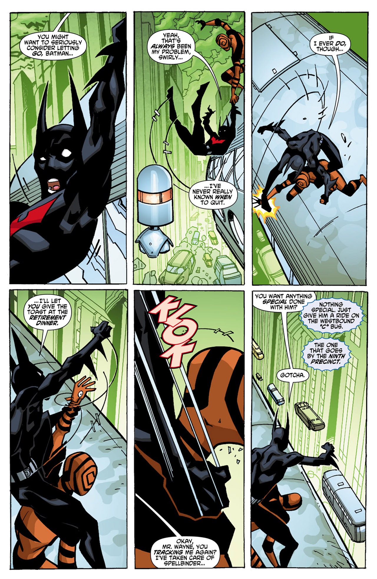Batman Beyond (2010) Issue #1 #1 - English 9
