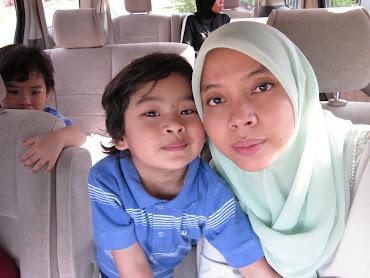 me and my lovely aqil n aqlan