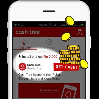 Aplikasi LockScreen CashTree