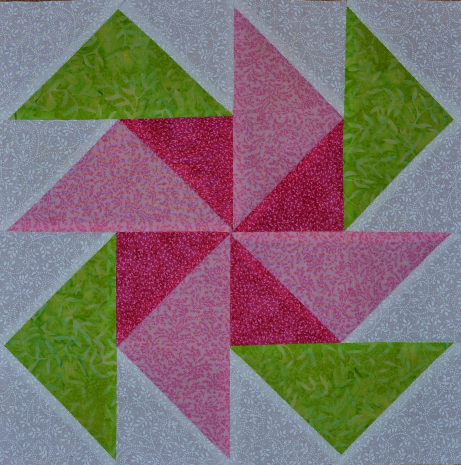 Chock A Block Quilt Blocks June 2012