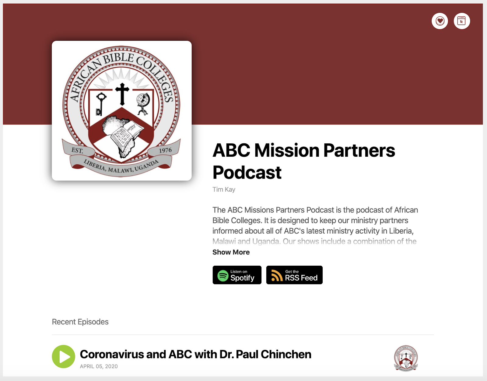 ABC Mission Partners Podcast