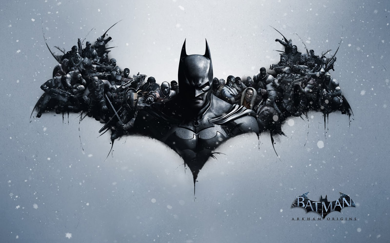 HD Batman Arkham Origins Logo