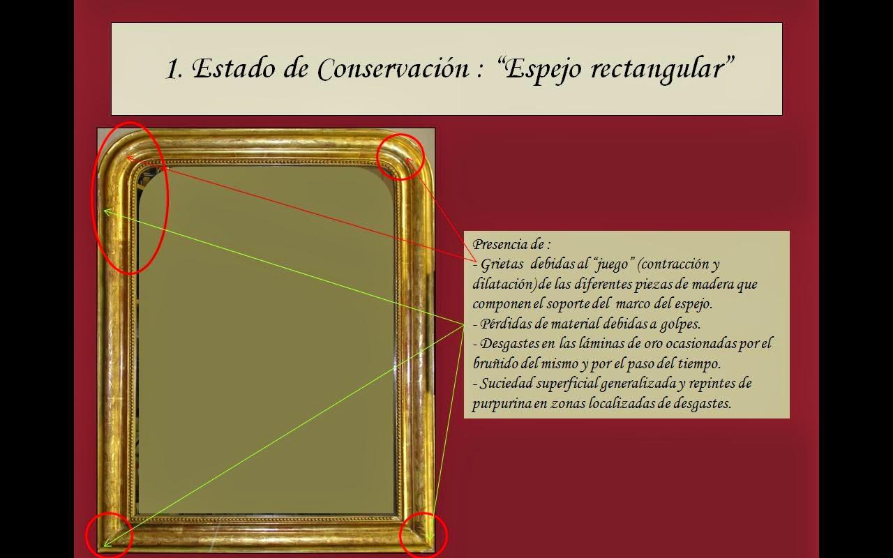 Restauración Marco de Espejo Dorado s. XIX | ANAIDA MARCOS ...
