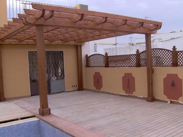 Pergolas en madera un toque de aire fresco pergolas - Pergolas de madera en sevilla ...