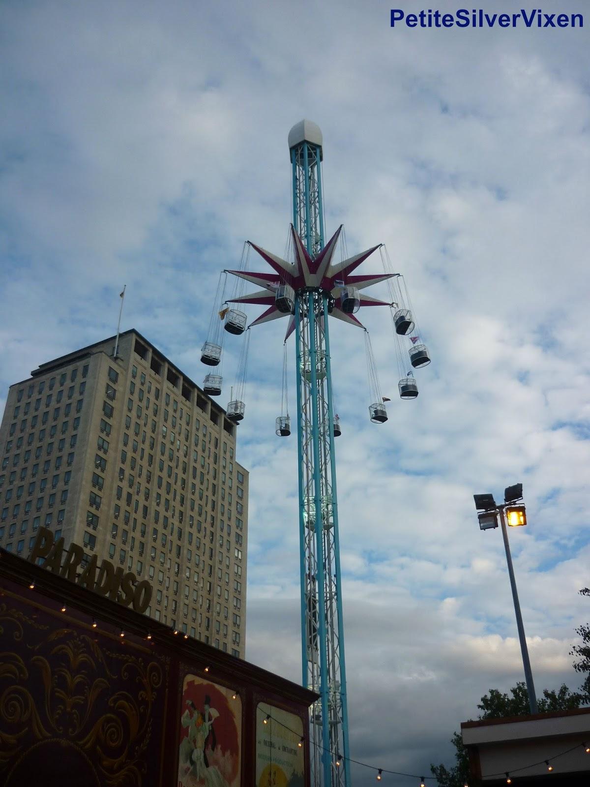 Fairground Ride | Petite Silver Vixen