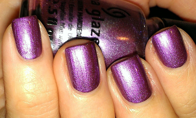 medium purple metallic foil