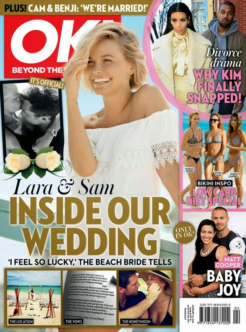 Lara Bingle - OK Magazine, Australia , January 2015