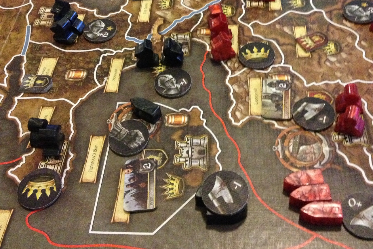 Board Game Ships a Game of Thrones The Board