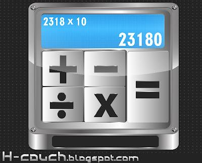 تحميل أيقونة تطبيق آلة حاسبة مجانا { Vector }