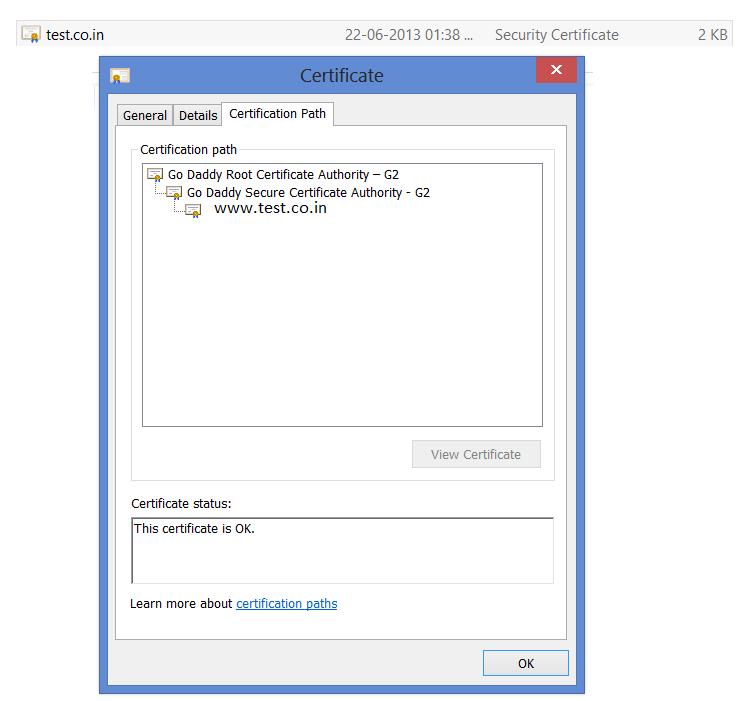 Nagaraja Yellapus Blog Installing Godady Ssl Certificate Keytool