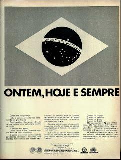 1970. História da década de 70. Propaganda nos anos 70. Brazil in the 70s. Oswaldo Hernandez.