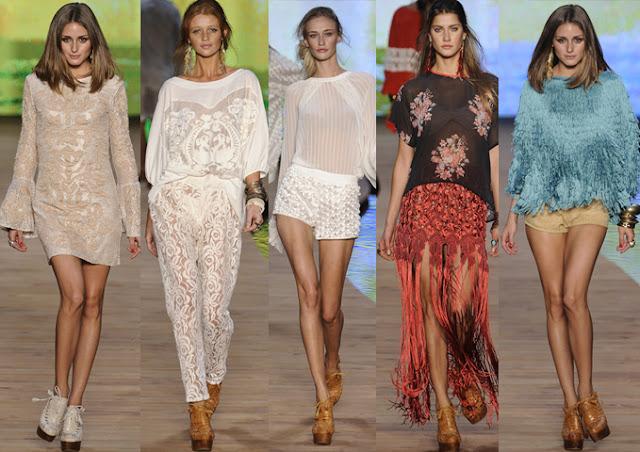Ana Isa E Bru Div Da Moda Fashion Rio Primavera Ver O 2012