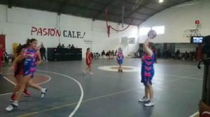 Provincial de basquet femenimo, La Falda viajó a Río Tercero