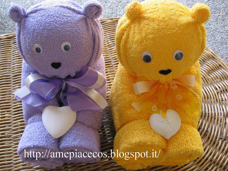 Piegare Asciugamani Forme : A me piace cosi come realizzare l orsetto con gli asciugamani