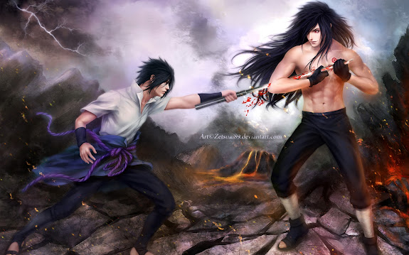 Madara vs Sasuke 8d