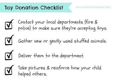 Toy Donation Checklist