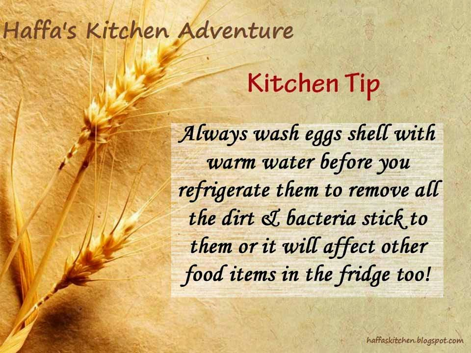 Kitchen tips| Haffa's Kitchen tips| How to store eggs?