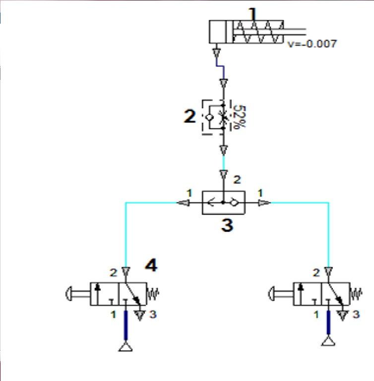 Circuito Neumatico Simple : Circuitos hidraulicos y neumaticos