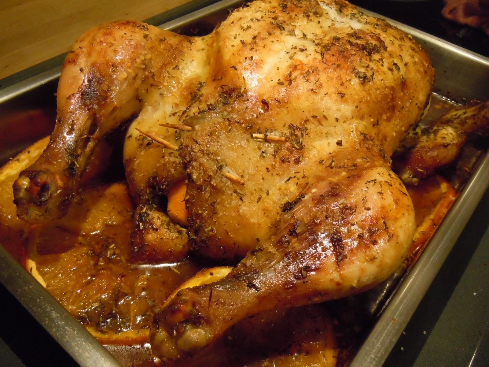 Pal vientre todo lo que entre pollo a la naranja - Pavo ala naranja al horno ...