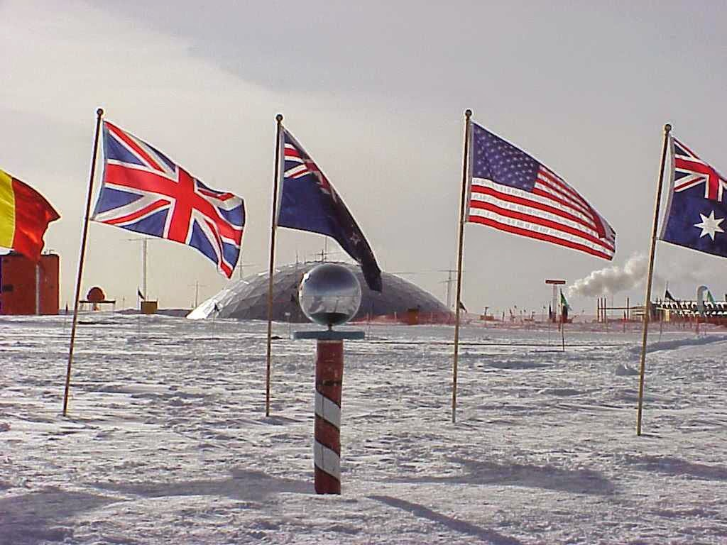 The South Pole - Antarctica