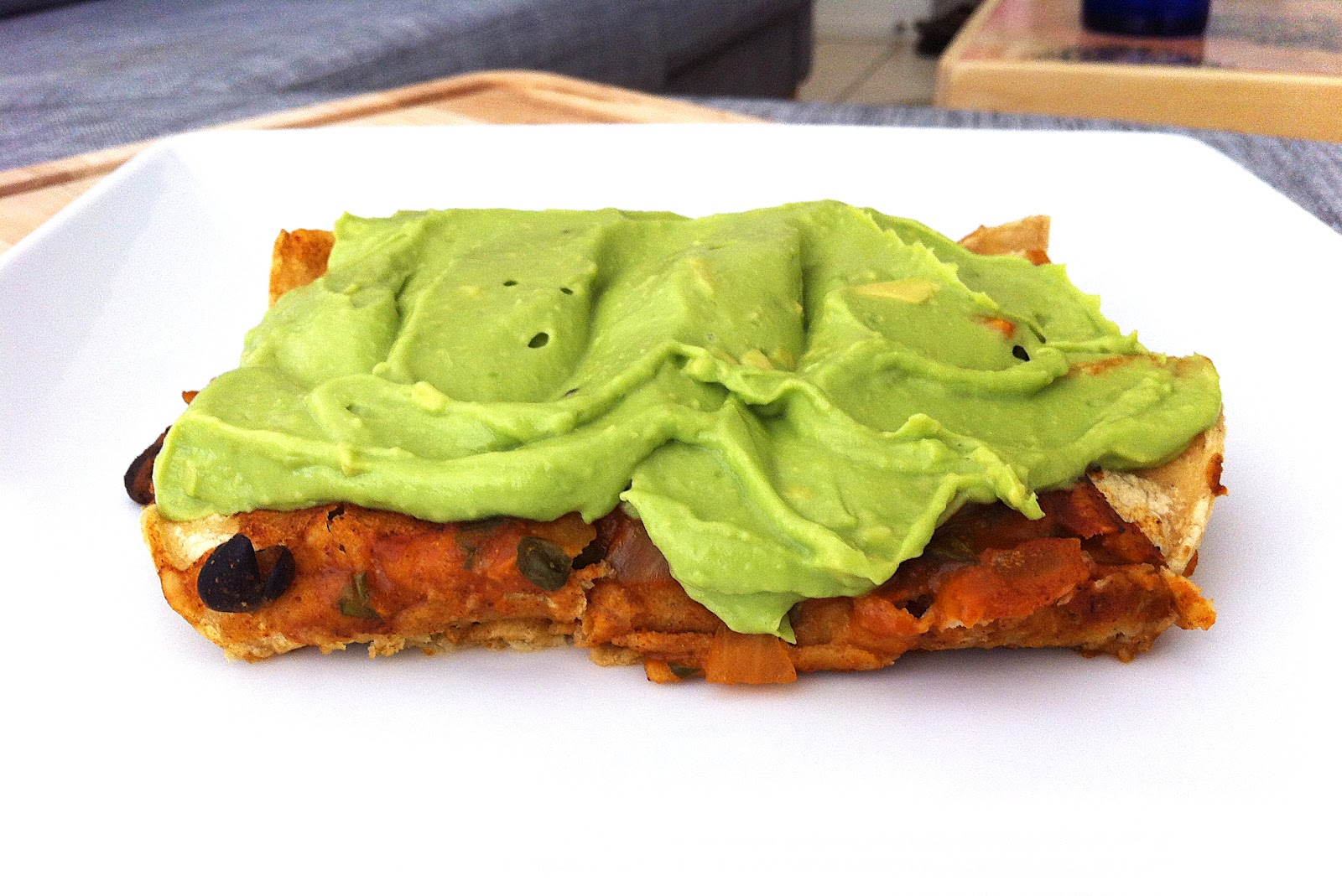 Made to Create: Enchiladas with Avocado Lime Cream Sauce
