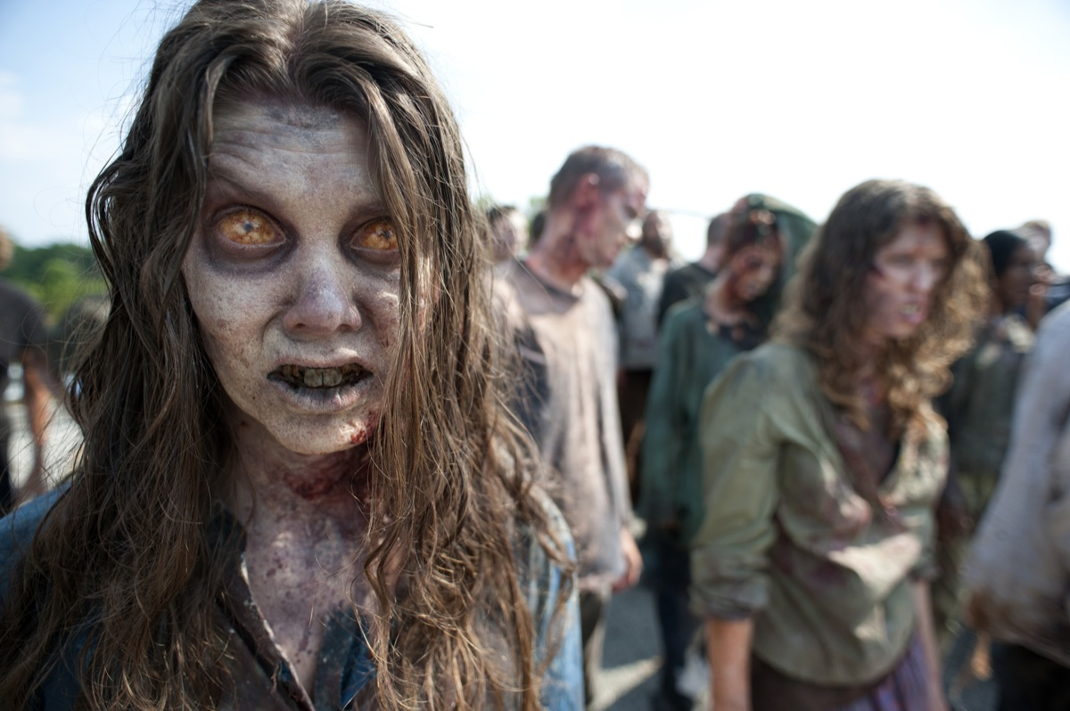 The walking dead season 2 zombie photo