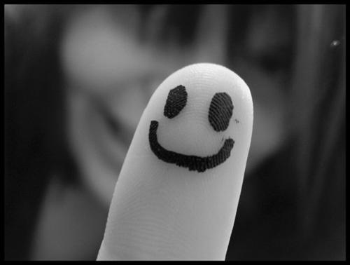 Get Images: Finger Smiley Photos