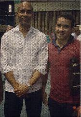 Con Alexei Julio Estrada