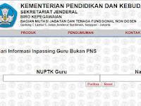 Cara cek SK Inpassing Guru Non PNS Terbaru