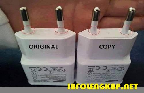 charger asli palsu stekker