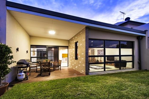 dekorasi rumah mewah dengan kantilever rancangan desain