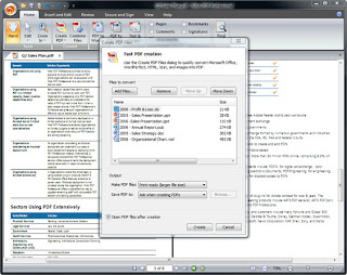 Open Create PDF With PDF Nitro Pro 7.5.0