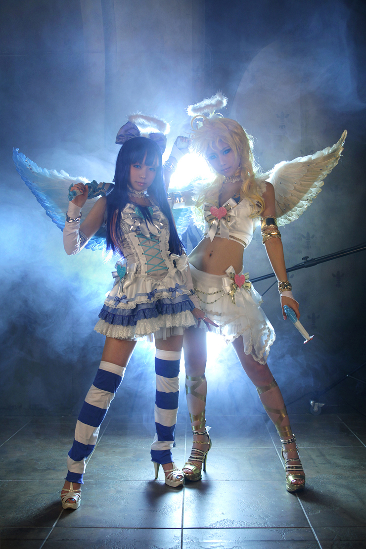 panty and stocking cosplay