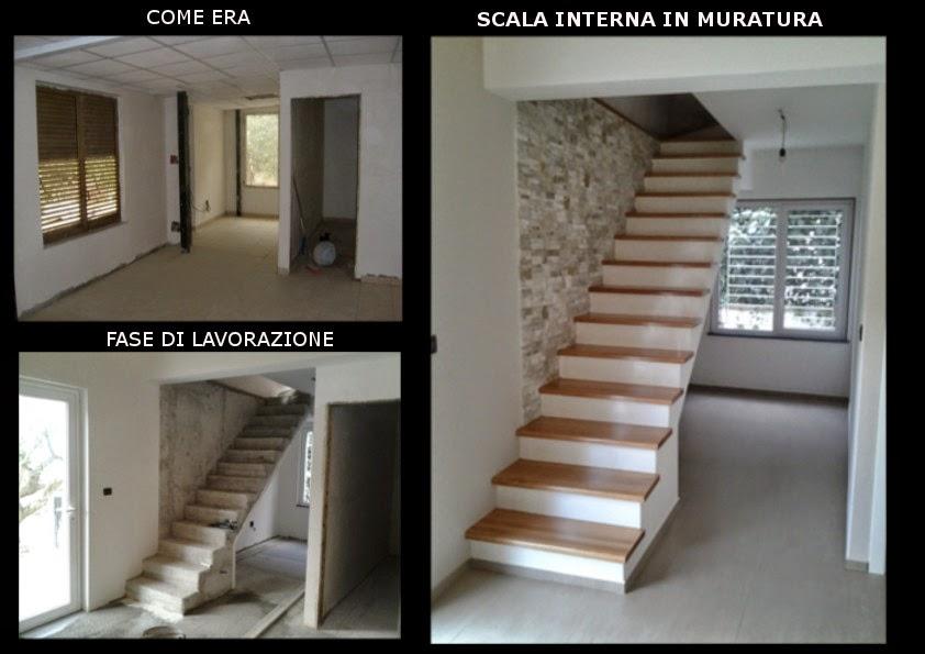 Architetto gaetano frud scala interna in muratura moderna - Scale interne muratura ...