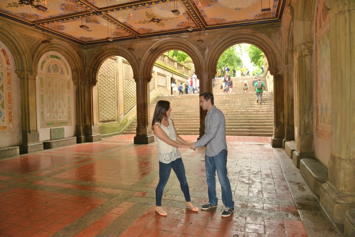 Dancing at Bethesda Terrace