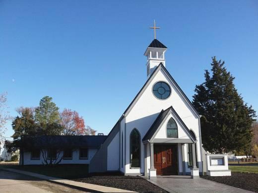 Rorate c li tradifying a church exterior for Church exterior design