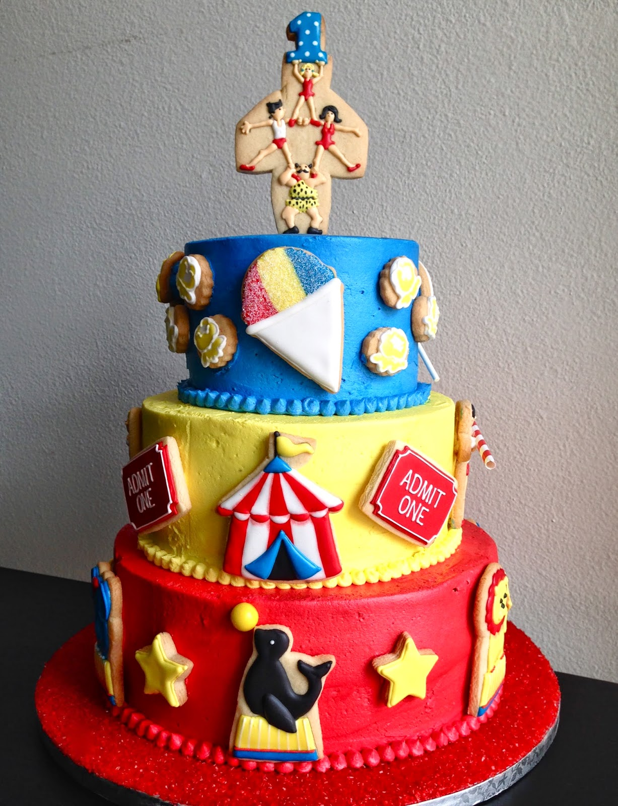 Oh Sugar Events Circus Cakes