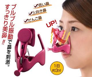 Alat unik untuk memancungkan hidung