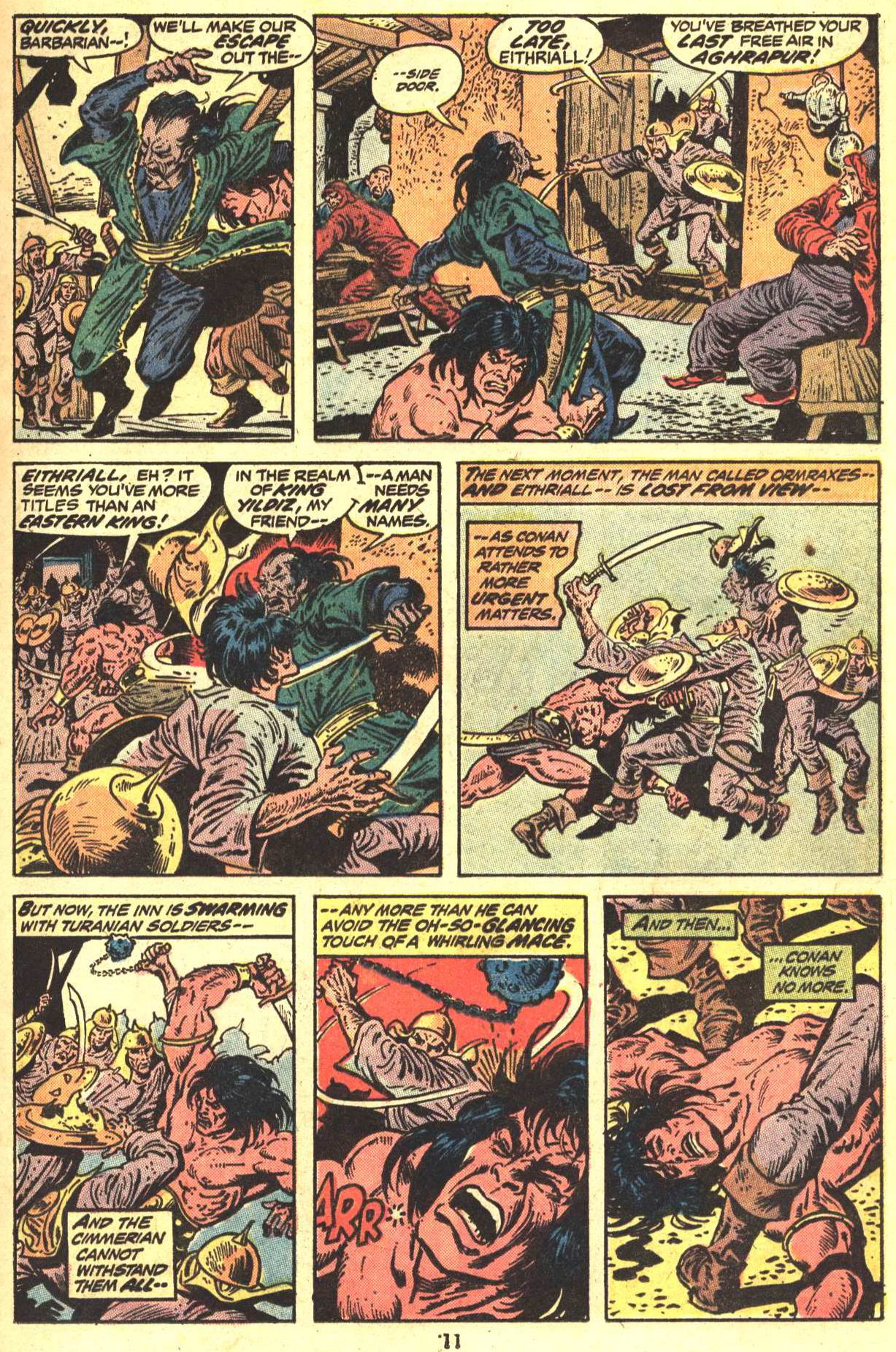 Conan the Barbarian (1970) Issue #29 #41 - English 9